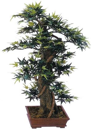 33 inch mini maple artificial bonsai