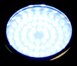 white LED underwater light